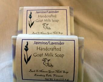 Jasmine & Lavender Goat Milk Soap