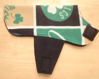 Boston Celtics Dog Coat