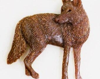 "New Coyote  Design "" trickster ""  New Pendent Design"