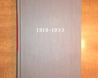 1957 First Edition Arthur M. Schlesinger The Crisis of the Old Order 1919-1933 Vintage Book