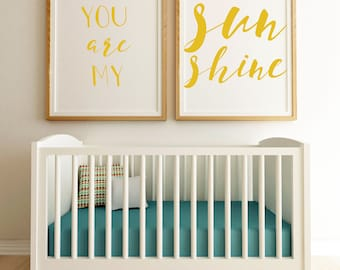 SET OF TWO: You are my Sunshine Digital Download