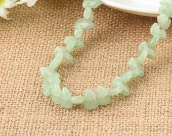 Green Aventurine Zuni Bear Gemstone Beads 12mm