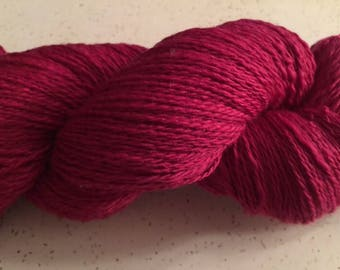 Handspun Merino Silk Yarn
