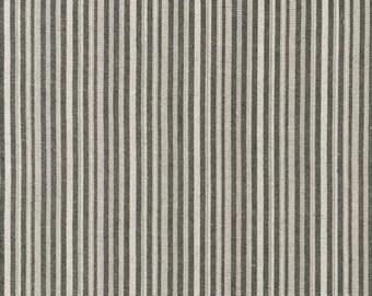 Studio Stash Yarn Dye - Charcoal Stripe - 1/2yd