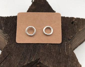 Hoopla - Handcrafted Sterling Silver Earrings...