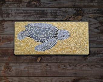 Tom the Turtle - Mosaic Wall Art, Handmade Mosaic