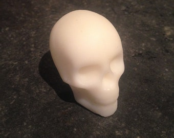 Baby Powder scented wax skull