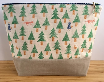 LARGE Project Bag | Into the Woods
