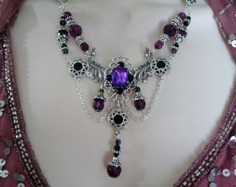 Renaissance Necklace, renaissance jewelry medieval jewelry victorian jewelry edwardian tudor necklace neo victorian art deco art nouveau