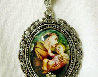 Saint Anthony necklace - AP09-017