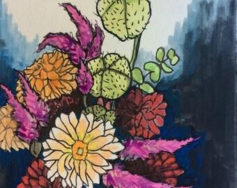 Original watercolor painting 9/100