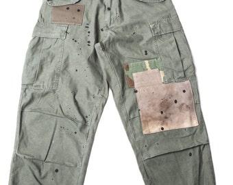 CL m-65 patch pants