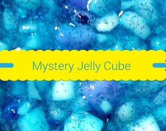 Mystery Jelly Cube Slime Clear Crunchy Slime Popcorn foam surprise mystery slime box party favor  gift  kid gift fun gift No Borax