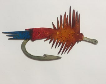 Metal Hand Painted Fly