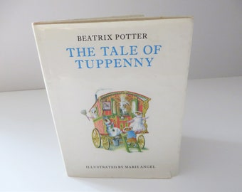 Beatrix Potter vintage 1973 book The Tale of Tuppenny