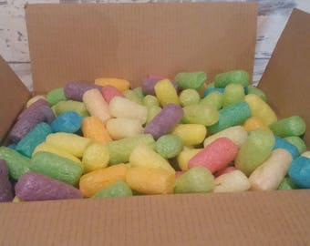 Eco Friendly Biodegradable multi colour packing nuggets