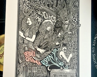 Led Zeppelin Poster by Posterography
