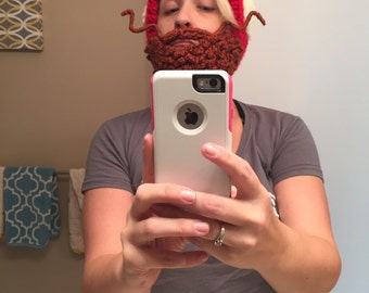 Lumberjack Hat with Detachable Beard
