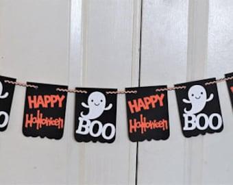Halloween decor, Halloween banner, Happy halloween