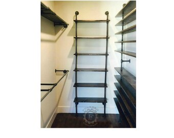 industrial pipe Shelf, Industrial Shelf, Store Shelf, Book Shelf, Steampunk Decor, Industrial Decor, Closet Organizer, Store Decor
