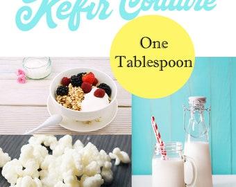 Original Circassian Milk Kefir Grains -  1 Tablespoon