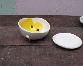 service ceramic colander
