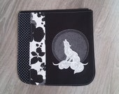 Howling wolf bag flap for...