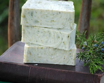 Handmade Soap, Winter's Morning Scent, Christmas Soap Gift