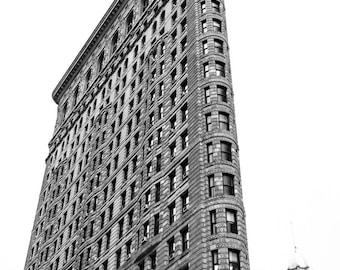 Flatiron Building Black and White