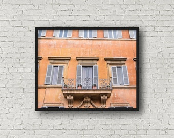 Rome StreetPrint / Digital Download / Fine Art Print/ Wall Art / Home Decor / Color Photograph / Travel Photography