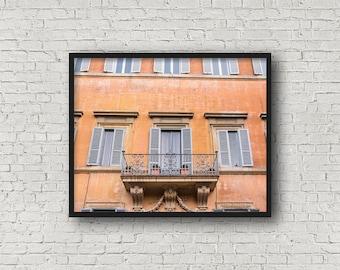 Rom StreetPrint / Digital Download / Fine-Art Print / Kunst / Home Decor / Farbe Fotografie / Reisefotografie