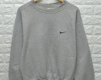 Vintage Nike small logo 90s sweater crewneck