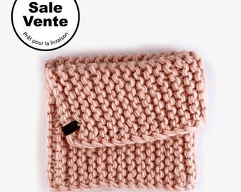 SALE  / The  Flip cowl in pink / Ready to ship
