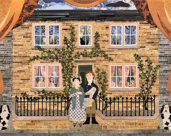 The Brontë Family at Thornton Parsonage