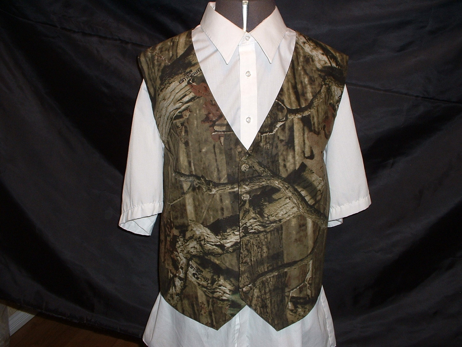 Camouflage vest / Camo Vest for Wedding / Prom / Special Event