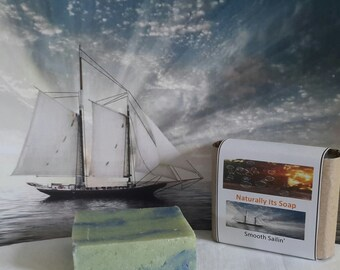 Smooth Sailin' scented soap (Vegan)