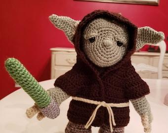 Yoda Amigurumi Doll