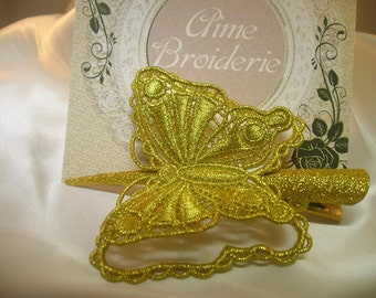 Lace Butterfly Hair Clip