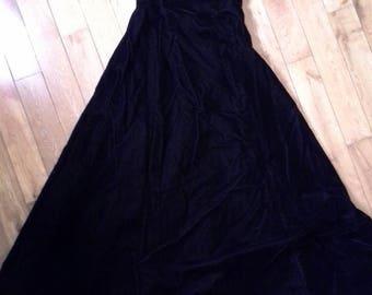 Black Velvet Dress by Scott McClintock,  Size 8