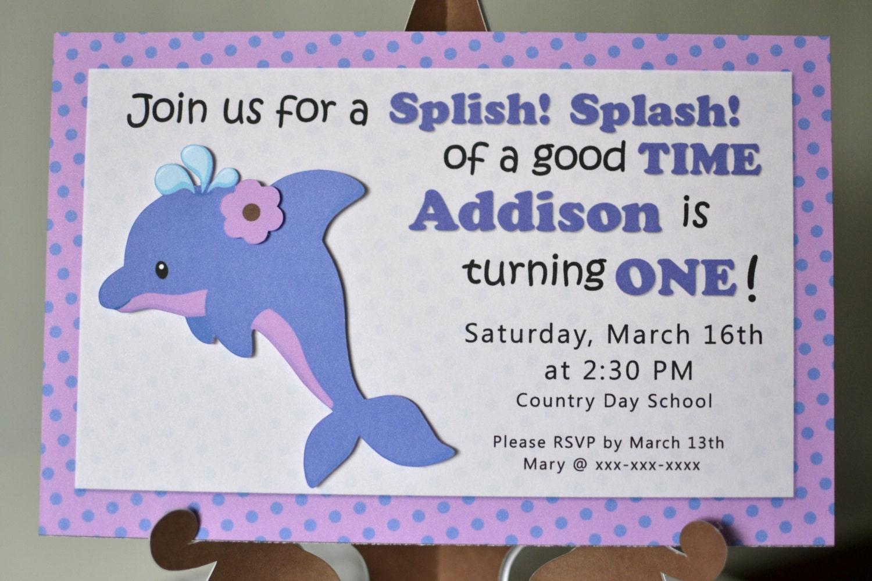 Girl dolphin birthday dolphin baby shower ocean birthday zoom filmwisefo