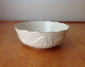 Lenox Fine China Candy Bowl with Rose