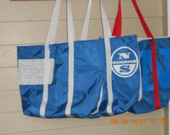 Large Recycled Sail Tote Bag