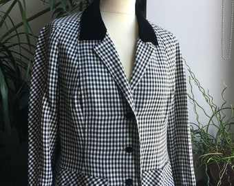 Jacket black & White - Cannes collection