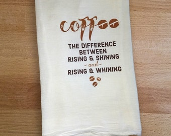 Tea Towel - Coffee