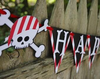 Pirate Birthday Banner