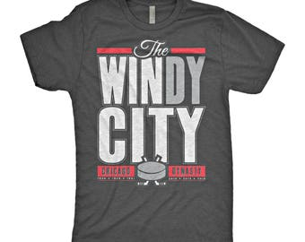 The WINdy City Chicago Hockey T-Shirt