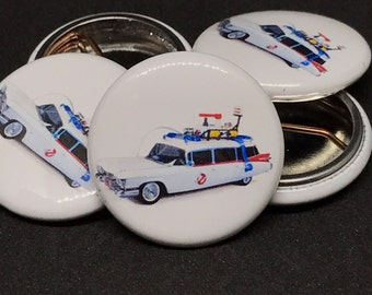 "Ghostbusters | Ecto-1 | 1"" Buttons"