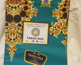 Fancy Damask Ankara Fabric