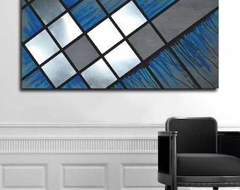 Contemporary Metal Wall Art, Abstract Metal Art Wall Decor, Metal Wood Wall Art, Modern Abstract Wall Art, Home Metal Wall Art