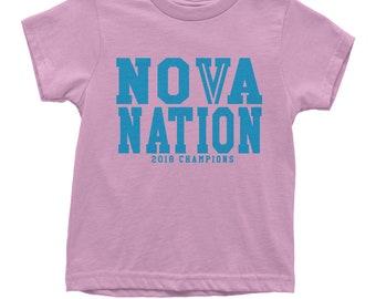 Kid's Nova Nation 2018 Champions Shirt Unisex Adult PhilaNova  PA T-Shirt #1358